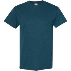 textil Herr T-shirts Gildan Heavy Midnatt