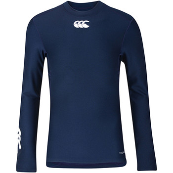 textil Barn Långärmade T-shirts Canterbury CN360B Marinblått