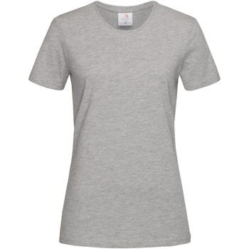 textil Dam T-shirts Stedman  Grått