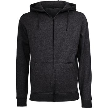 textil Herr Sweatshirts Build Your Brand BY012 Svart