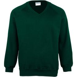 textil Barn Sweatshirts Maddins MD02B Flaskegrön