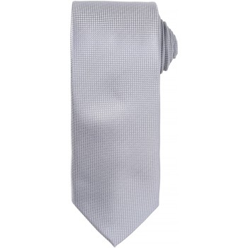 textil Herr Slipsar och accessoarer Premier Waffle Silver
