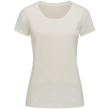 textil Dam T-shirts Stedman Stars  Vintervitt