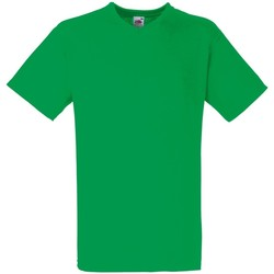 textil Herr T-shirts Fruit Of The Loom 61066 Kelly Green