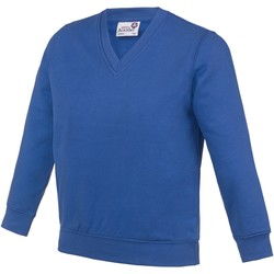 textil Barn Sweatshirts Awdis  Kunglig blå