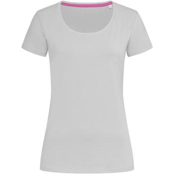 textil Dam T-shirts Stedman Stars  Mjukgrå