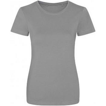 textil Dam T-shirts Ecologie EA01F Heather