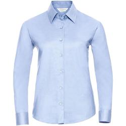 textil Dam Skjortor / Blusar Russell 932F Oxford Blue