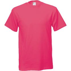 textil Herr T-shirts Universal Textiles 61082 Varmrosa