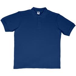 textil Herr Kortärmade pikétröjor Sg SG50 Marinblått