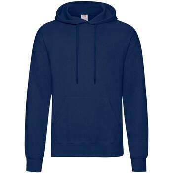 textil Herr Sweatshirts Fruit Of The Loom 62208 Djupt marinblått