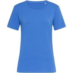 textil Dam T-shirts Stedman  Ljus kunglig blå