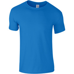 textil Barn T-shirts Gildan 64000B Saphire