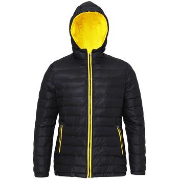 textil Dam Täckjackor 2786 TS16F Svart/blankt gult
