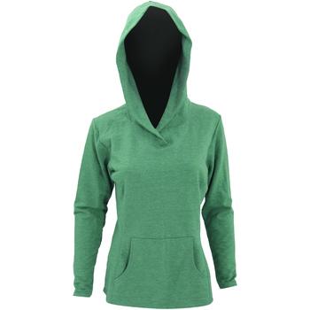 textil Dam Sweatshirts Anvil 72500L Heather Green