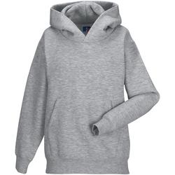 textil Barn Sweatshirts Jerzees Schoolgear 575B Ljus Oxford