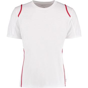 textil Herr T-shirts Gamegear Cooltex Vit/Röd