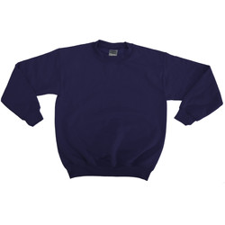 textil Barn Sweatshirts Gildan 18000B Marinblått