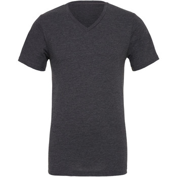 textil Herr T-shirts Bella + Canvas CA3005 Mörkgrått ljummet