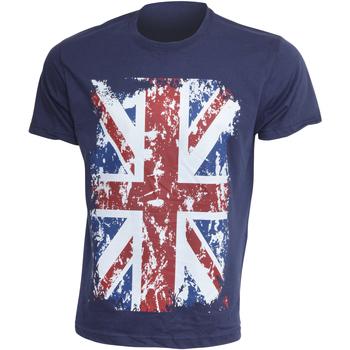 textil Herr T-shirts Gb Eye Limited  Marinblått