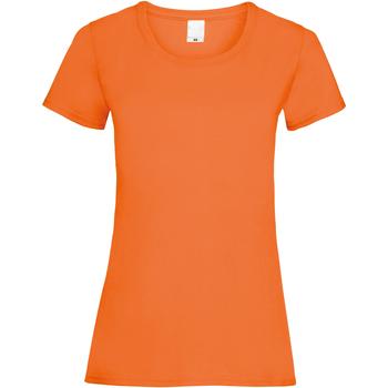 textil Dam T-shirts Universal Textiles 61372 Ljus orange