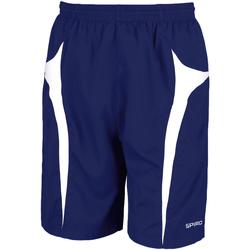 textil Herr Shorts / Bermudas Spiro S184X Marinblått/vit