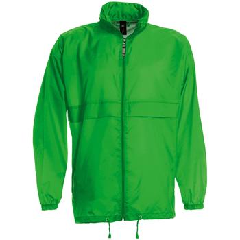 textil Herr Vår/höstjackor B And C JU800 Riktigt grönt