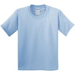 textil Barn T-shirts Gildan 64000B Ljusblå