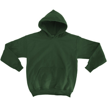 textil Barn Sweatshirts Gildan 18500B Skogsgrön