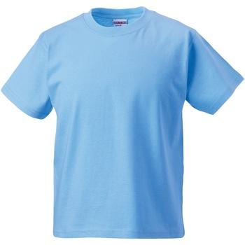 textil Barn T-shirts Jerzees Schoolgear ZT180B Himmelblått