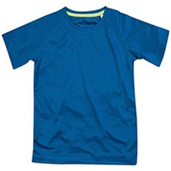 textil Barn T-shirts Stedman  King Blue