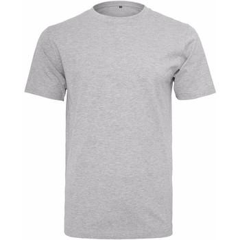 textil Herr T-shirts Build Your Brand Round Neck Grått