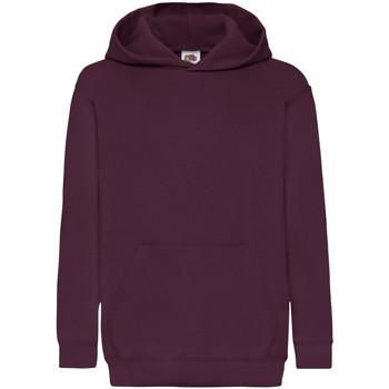 textil Barn Sweatshirts Fruit Of The Loom 62043 Bourgogne