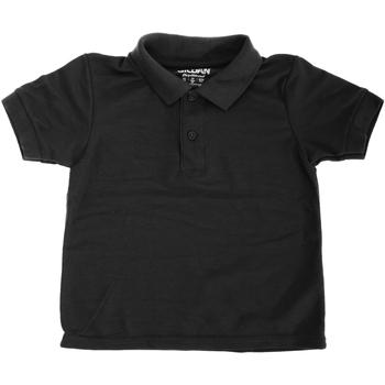 textil Barn Kortärmade pikétröjor Gildan 72800B Svart