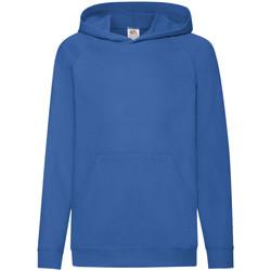 textil Barn Sweatshirts Fruit Of The Loom 62009 Kungliga