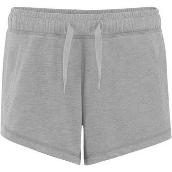 textil Dam Shorts / Bermudas Comfy Co CC055 Grått