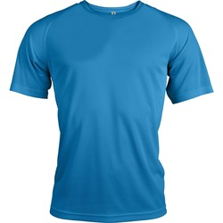 textil Herr T-shirts Kariban Proact PA438 Aqua