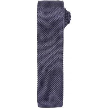 textil Herr Slipsar och accessoarer Premier  Stål