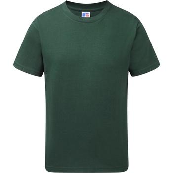 textil Pojkar T-shirts Jerzees Schoolgear J155B Flaskegrön