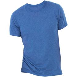 textil Herr T-shirts Bella + Canvas CA3413 True Royal Triblend