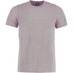 textil T-shirts Kustom Kit KK504 Ljusgrå marl