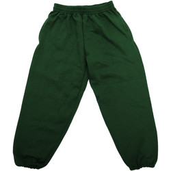 textil Barn Joggingbyxor Jerzees Schoolgear 750B Flaskegrön
