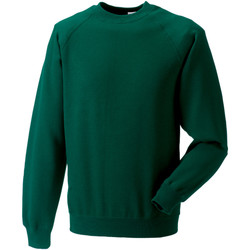 textil Sweatshirts Russell 7620M Flaskegrön