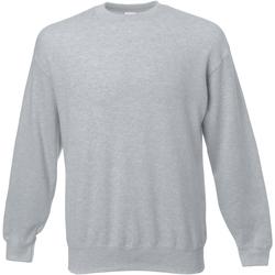 textil Herr Sweatshirts Universal Textiles 62202 Grått