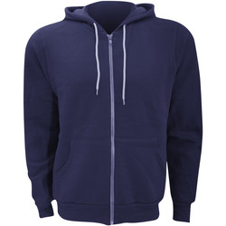 textil Herr Sweatshirts Bella + Canvas CA3739 Marinblått