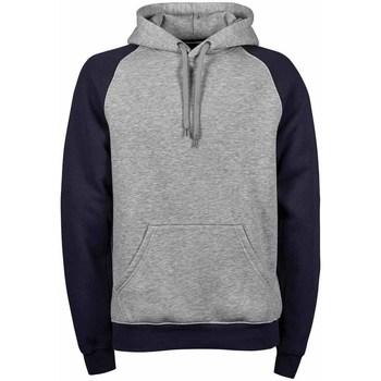 textil Herr Sweatshirts Tee Jays TJ5432 Marinblått