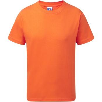 textil Barn T-shirts Jerzees Schoolgear J155B Orange