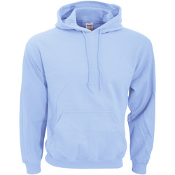 textil Sweatshirts Gildan 18500 Ljusblå