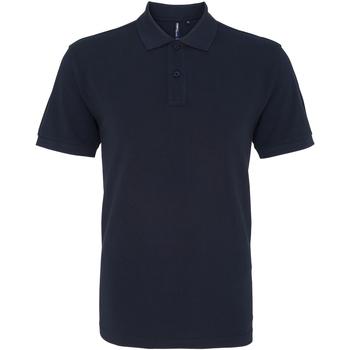 textil Herr Kortärmade pikétröjor Asquith & Fox AQ010 Franska flottan