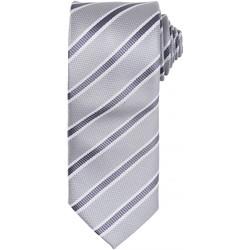 textil Herr Slipsar och accessoarer Premier PR783 Silver/mörkgrått